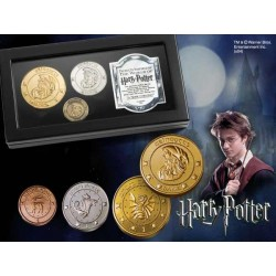 Harry Potter Réplica Set de Monedas del Banco Gringotts