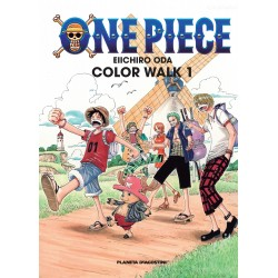 One Piece Color Walk 01