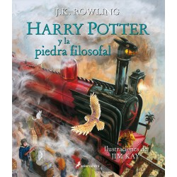 Harry Potter y la piedra filosofal. Edición Ilustrada - JK Rowling