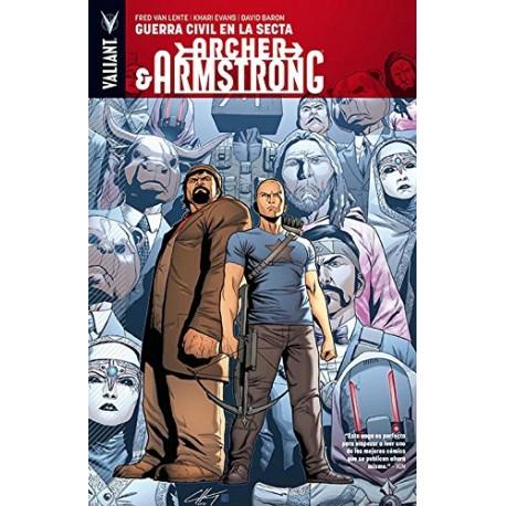 Archer & Armstrong 4: Guerra Civil en la Secta