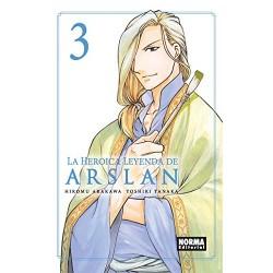 La Heroica Leyenda de Arslan 03