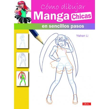 Cómo dibujar manga chicas en sencillos pasos