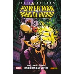 100% Marvel HC. Power Man y Puño de Hierro 01 - Los chicos han vuelto