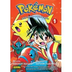 Pokémon 13. Rojo fuego y verde hoja 01
