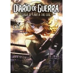 Diario de guerra - Saga of Tanya the evil núm. 01