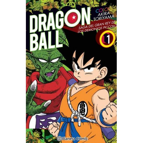 Dragon Ball Color Piccolo nº 01/04
