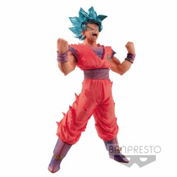 Figura Super Saiyan Blue Goku 18cm Dragon Ball Super Blood of Saiyans