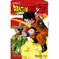 Dragon Ball Z Anime Series Saga de los Saiyanos 3