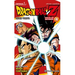 Dragon Ball Z Anime Series Saga de los Saiyanos 4