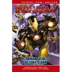 Marvel Now! Deluxe. Iron Man de Kieron Gillen 01