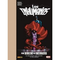 Novela Gráfica Marvel. Los Inhumanos: Por Derecho de Nacimiento