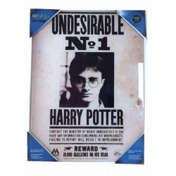 Harry Potter Indeseable Nº1 - Póster de vidrio 30X40 cm