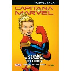 Marvel Saga. Capitana Marvel 01. La Heroína más Poderosa de la Tierra