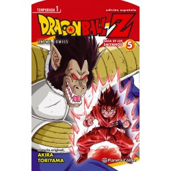 Dragon Ball Z Anime Series Saga de los Saiyanos 5