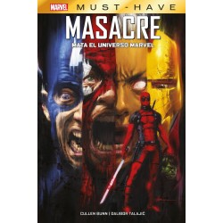 Marvel Must-Have. Masacre Mata el Universo