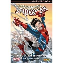 Marvel Saga. El Asombroso Spiderman 46. La suerte de estar vivo