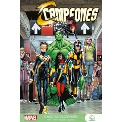 Marvel Young Adults. Campeones 01. El mundo todavía necesita héroes