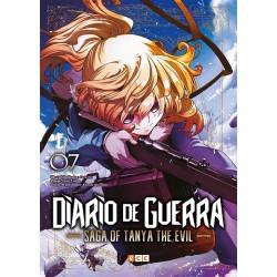 Diario de guerra - Saga of Tanya the evil 07