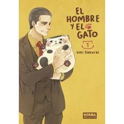 El Hombre y El Gato 01 con postal exclusiva