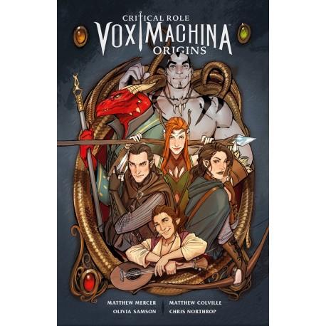 Critical Role - Vox Machina: Orígenes