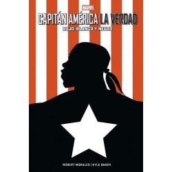 100% Marvel HC. Capitán América: La Verdad - Rojo, Blanco y Negro