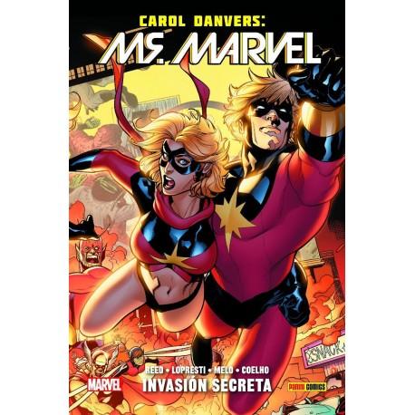 100% Marvel HC. Carol Danvers: Ms. Marvel 03 - Invasión Secreta