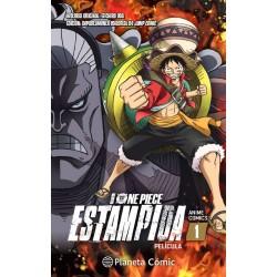 One Piece Estampida Anime Comic 01