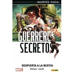 Marvel Saga. Guerreros Secretos 03. Despierta a la bestia