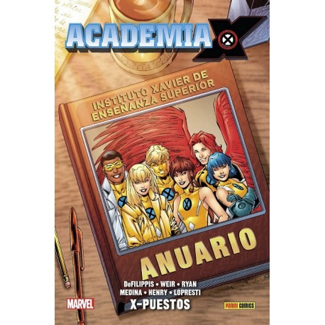 100% Marvel HC. Academia X 02