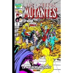 Marvel Gold. Los Nuevos Mutantes 03 La Masacre Mutante