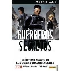 Marvel Saga. Guerreros Secretos 04. El último asalto de los Comandos Aulladores