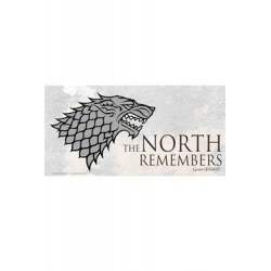 Juego de Tronos The North Remembers . Póster de vidrio