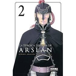 La Heroica Leyenda de Arslan 02