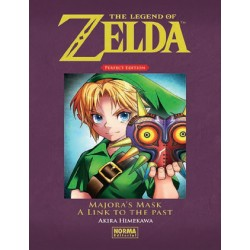 The Legend of Zelda Perfect Edition 02: Majora's Mask y A Link to the Past