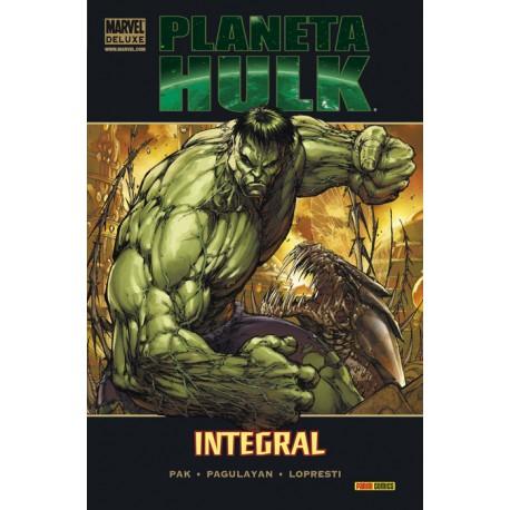 Marvel Deluxe. Planeta Hulk: Integral