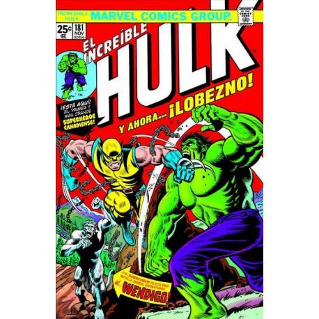 Marvel Facsímil. The Incredible Hulk 181