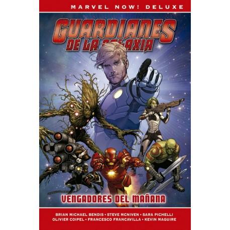 Marvel Now! Deluxe. Guardianes de la Galaxia de Brian M. Bendis 01 Vengadores del mañana
