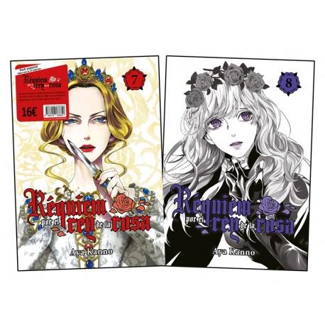 Pack Requiem por el Rey de la Rosa 7 y 8