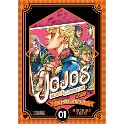 Jojo's Bizarre Adventure parte 5: Vento Aureo 01