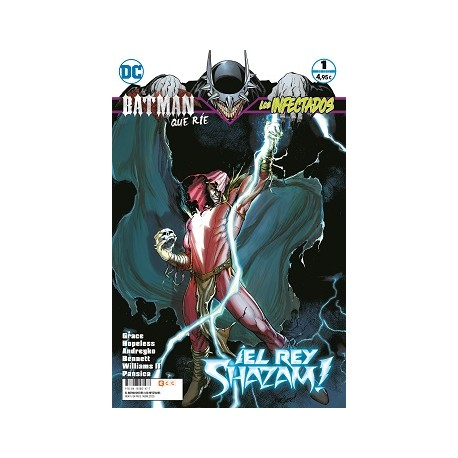 El Batman que Ríe: Los Infectados núm. 01 de 6
