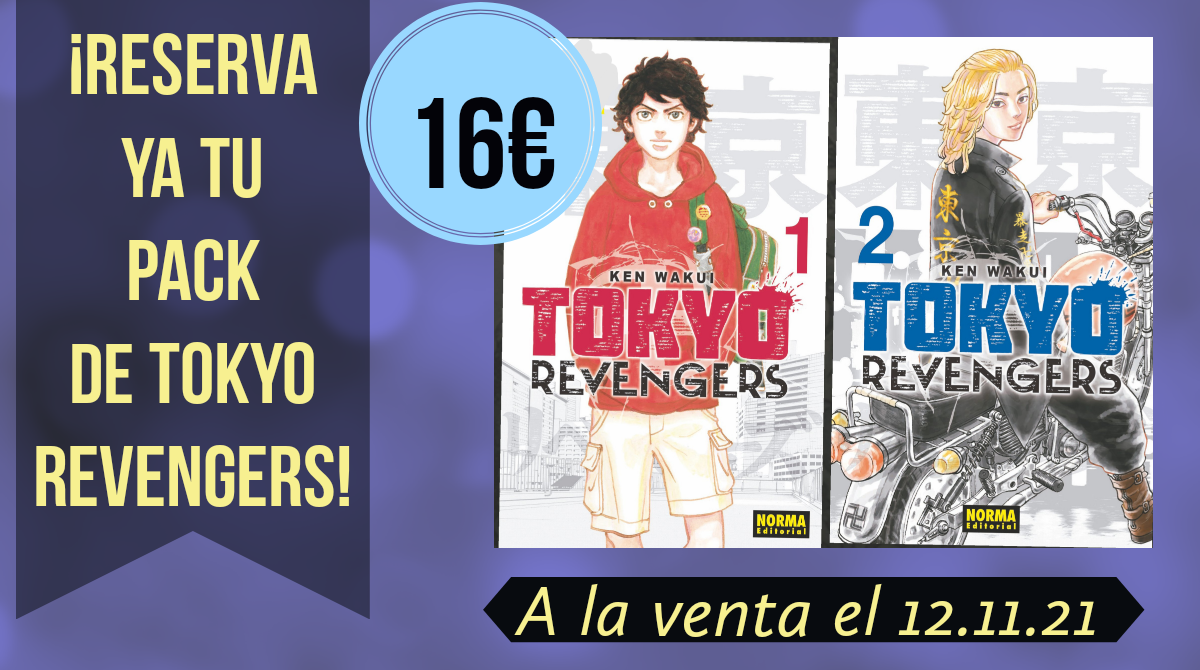 Tokyo Revengers pack lanzamiento