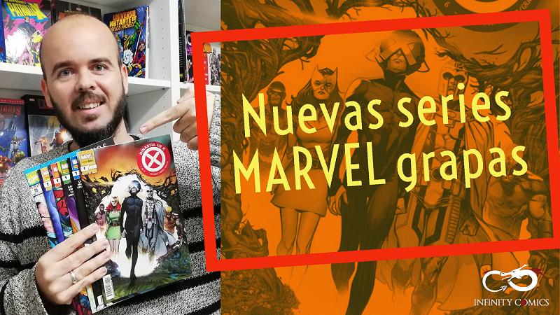 Nuevas Series Grapa Marvel Noviembre
