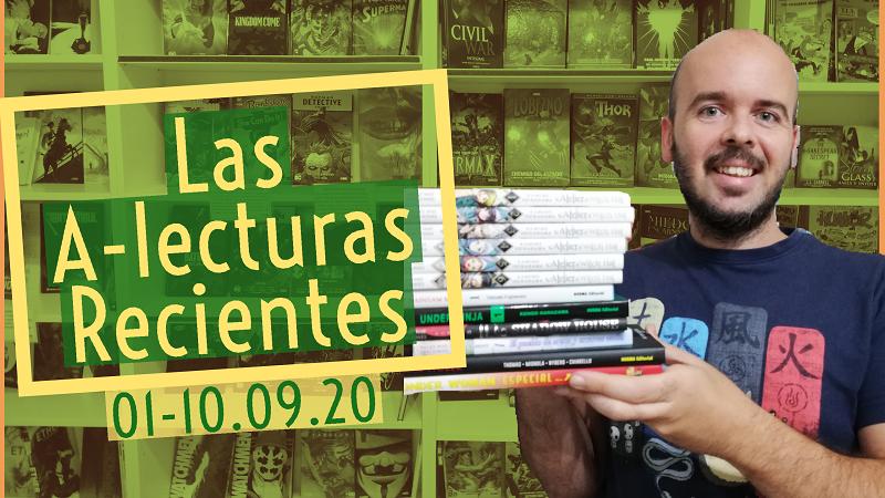 Nuestras Lecturas Recientes 01-10.09.20 I Los Cómics que Alex ha leído esta semana
