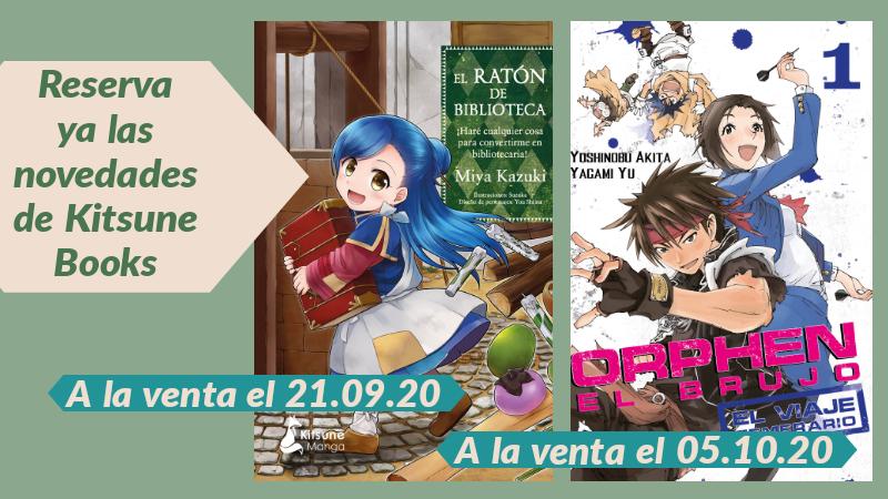 Reserva - novedades Kitsune Books septiembre